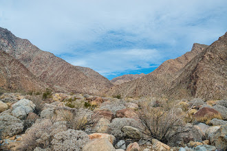 Photo: Borrego Palm Canyon trail, Anza Borrego SP