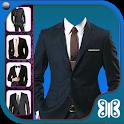 Man Suit Photo Camera icon