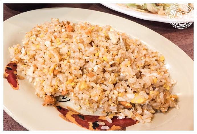 竹棧複合式餐飲鮭魚炒飯