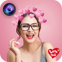 Live Face Camera Strawberry icon