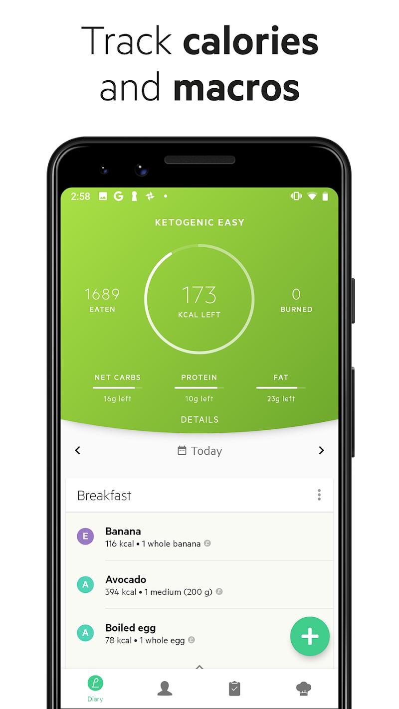 Lifesum - Diet Plan, Macro Calculator & Food Diary Screenshot 1