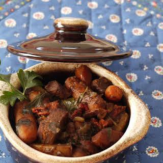 Coffee Beef Stew.