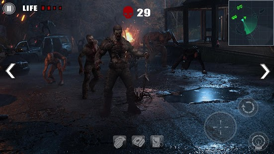 Z Survival Day - Free zombie shooting game Screenshot