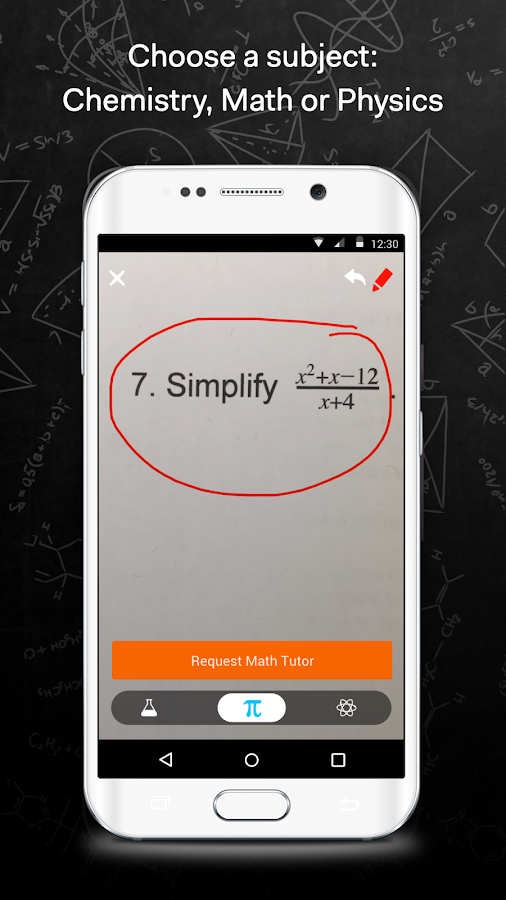 Homework help app android