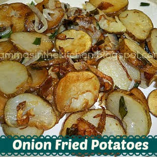 Onion Fried Potatoes.