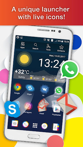 Launcher Live Icons for Android 2.38.02 screenshots 1