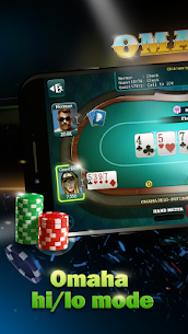 Live Poker Tables–Texas holdem and Omaha 7