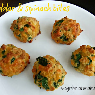 Cheddar and Spinach Bites – #glutenfree