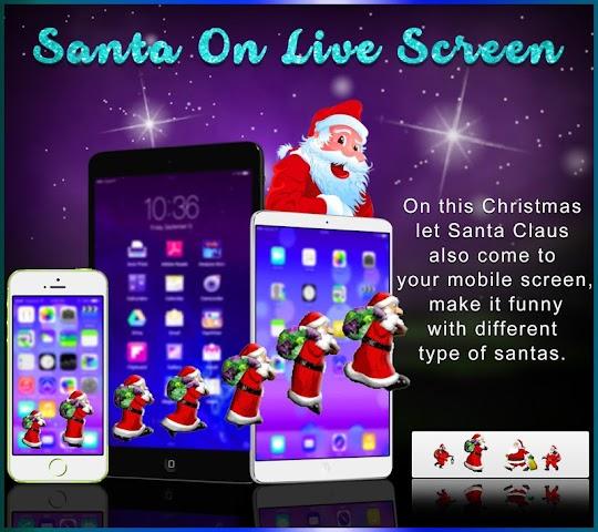 android Santa On Live Screen Screenshot 6