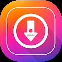 تحميل الصور والفيديومن انستقرام icon