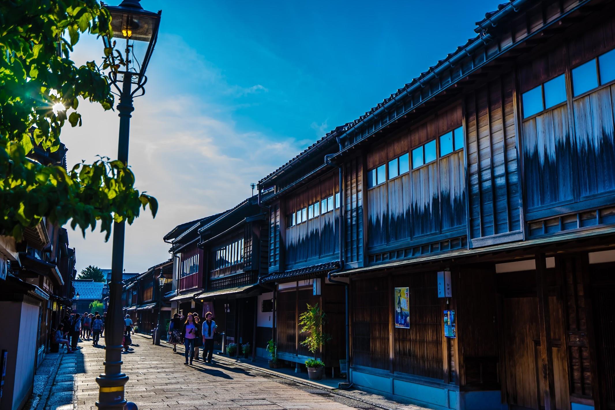 Kanazawa Higashi Chaya District4