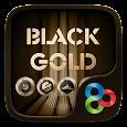 Black Gold GO Launcher Theme apk