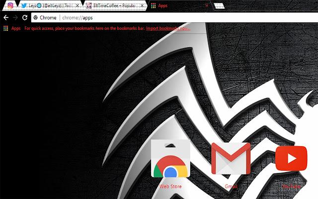 Venom Symbol Wallpaper Theme Hd Chrome 2018