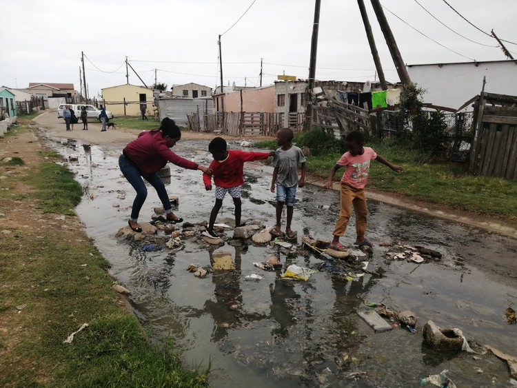Thugs scare municipal workers away from broken township drains - TimesLIVE