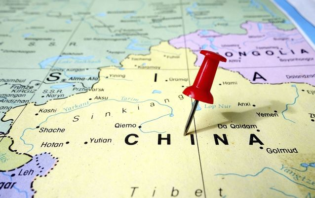 China map. Picture: ISTOCK