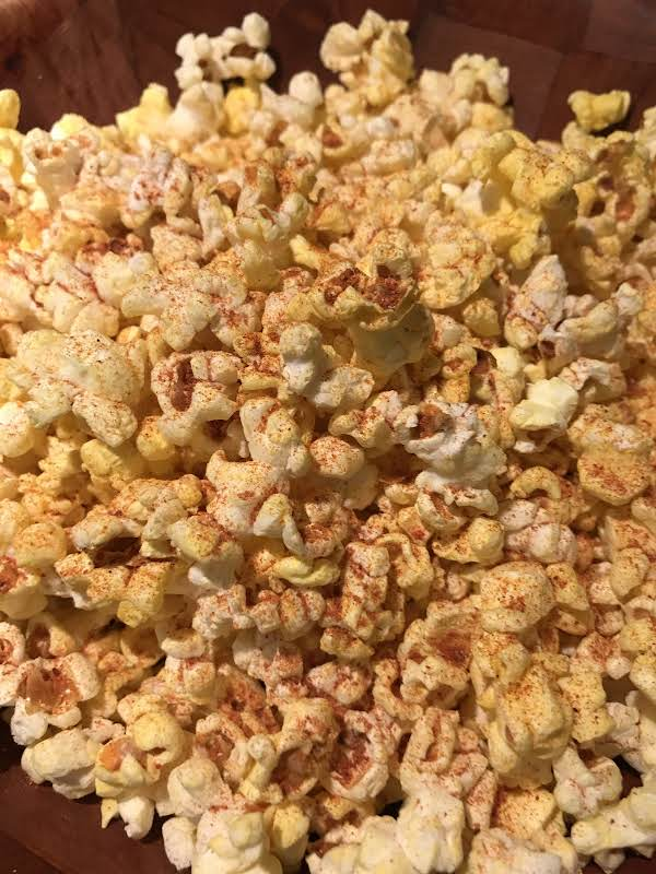 Spicy Popcorn With Berbere