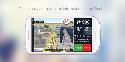 Sygic FleetWork & Job Dispatch screenshot 2