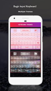Bugis Input Keyboard - náhled