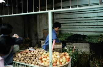 Photo: 10963 上海/自由市場/トマト/ニンジン
