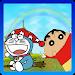 Jumping: shin chan VS dorae mon Icon