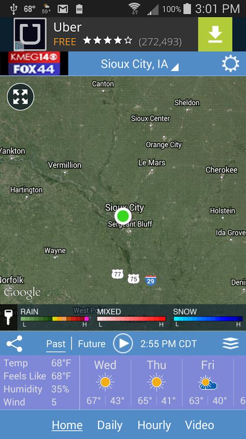 Siouxland Weather- screenshot