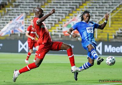 Jordan Botaka est prêté avec option d'achat par Gand à Charleroi