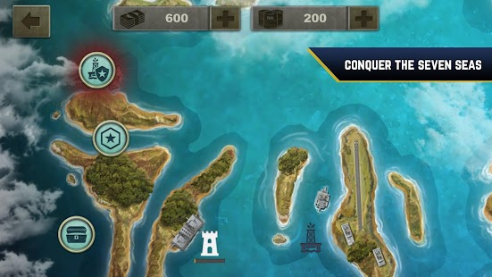 Aguas Enemigas: Submarinos vs Buques de Guerra Screenshot