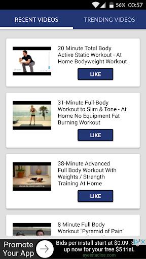 Aerobics workouts fitness screenshot 1
