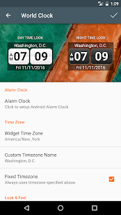 World Clock Widget 2017 Pro- screenshot thumbnail