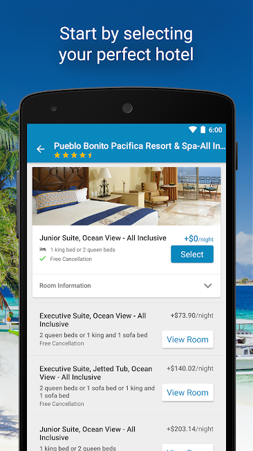 #2. Expedia Hotels, Flights & Cars (Android)