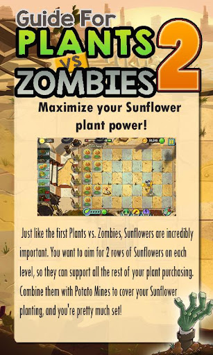 Guide For Plants vs Zombies 2