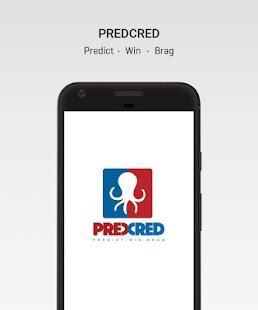 PredCred - Sports Predictor App - náhled