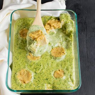 Cheesy Spinach Tofu Casserole Recipe