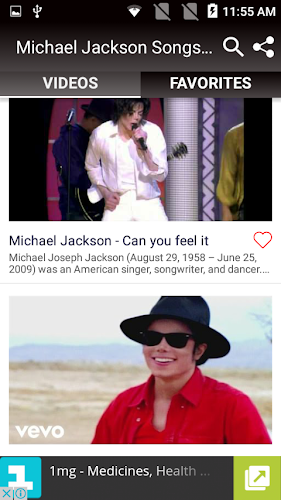 Download Michael Jackson Songs, Albums, Video Songs APK