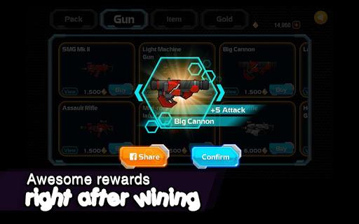 Galaxy Gunner: The last man standing game 1.6.3 screenshots 14