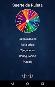 Suerte de Ruleta (español) 1.51 7