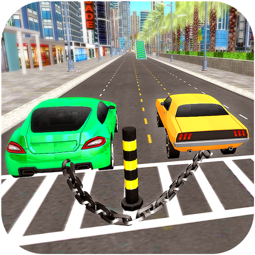 Impossible Chain Car Extreme Driving Simulator 18