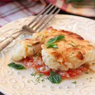 Fish and Potato Casserole