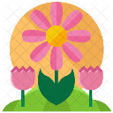 Spring Wallpapers NewTab Theme Icon