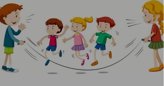 La cordeàsauter : jeux d'animation sans contact