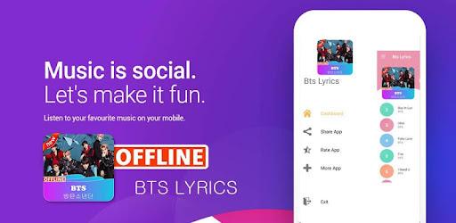 BTS Lyrics Offline – Kpop Offline
