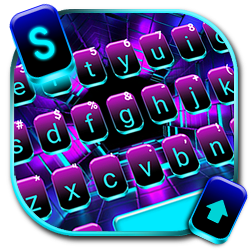 Neon Space Lights Keyboard Theme Android APK Download Free By Cool Keyboard For Android-2019 Theme Apps