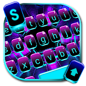 Neon Space Lights Keyboard Theme Android APK Download Free By Fancy Keyboard For Android Apps