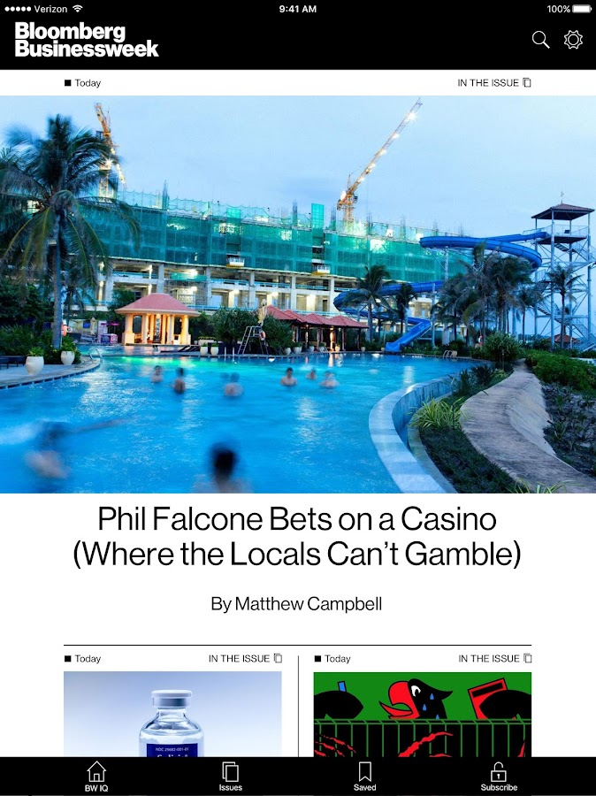 Bloomberg Businessweek+- screenshot