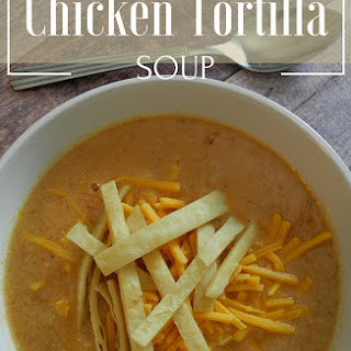 Velveeta Cheese Chicken Tortilla Soup Recipes