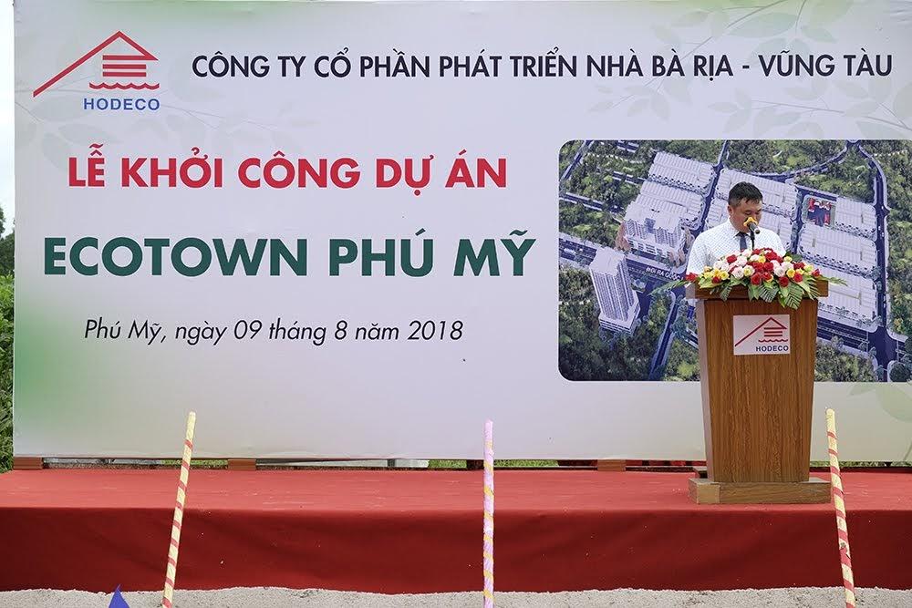 Lễ khởi công dự án Ecotown Phú Mỹ