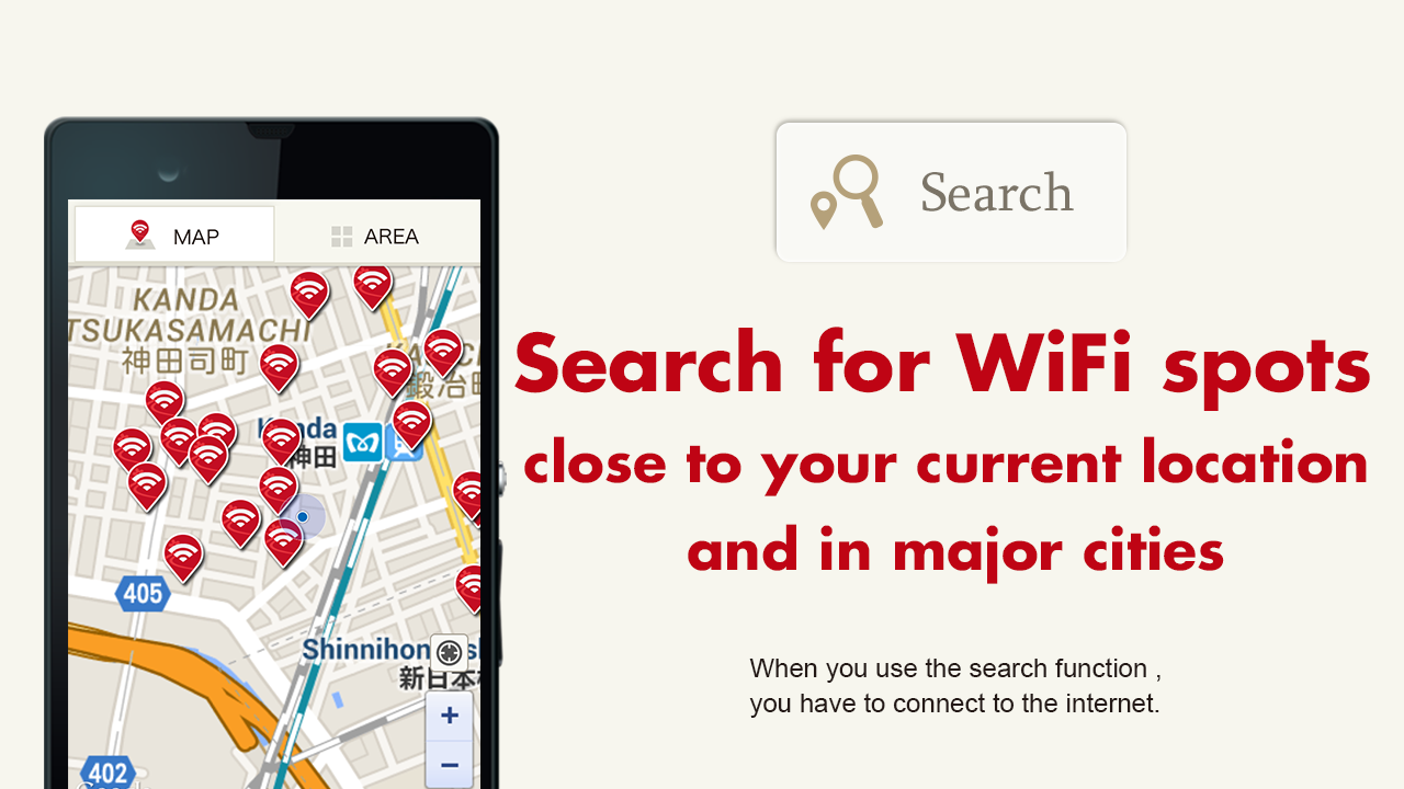 Japan Connected-free Wi-Fi- screenshot