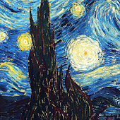 wallpaper starry night