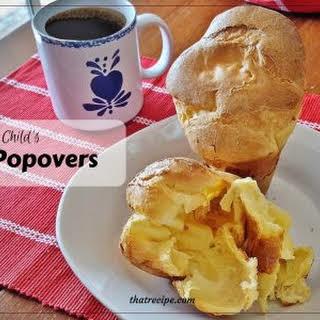 Julia Child's Popovers.