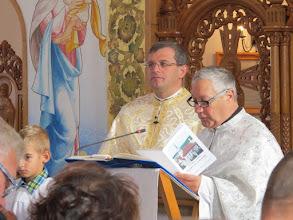 Photo: Rou2C23-151004Targa Mures, lecture par Père Patrick IMG_9133
